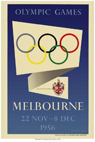 Melbourne Olympics 1956 Logo