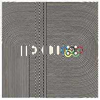 Mexico Olympic Logo 1968